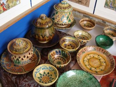 музей керамики гиждуван, Традиционная керамика Гиждувана, Керамическая мастерская Абдулло Нарзуллаева в Гиждуване