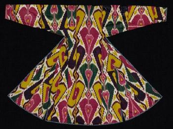 узбекский икат, икат узор, икат цвет, иката, декоративные ткани. ткачество