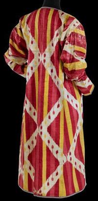 узбекские икаты, шелковая ткань икат