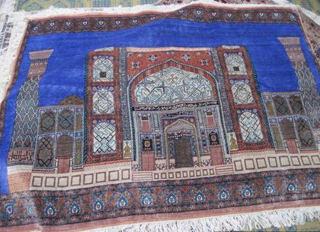 Шелковое чудо Самарканда, шелковые ковры, шелковые ковры ручной работы