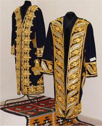 Tradicional Uzbek male clothes